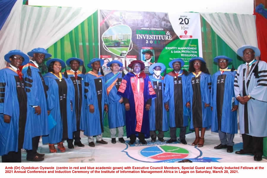 Institute of Information Management Africa holds 28th annual conference, induction ceremony