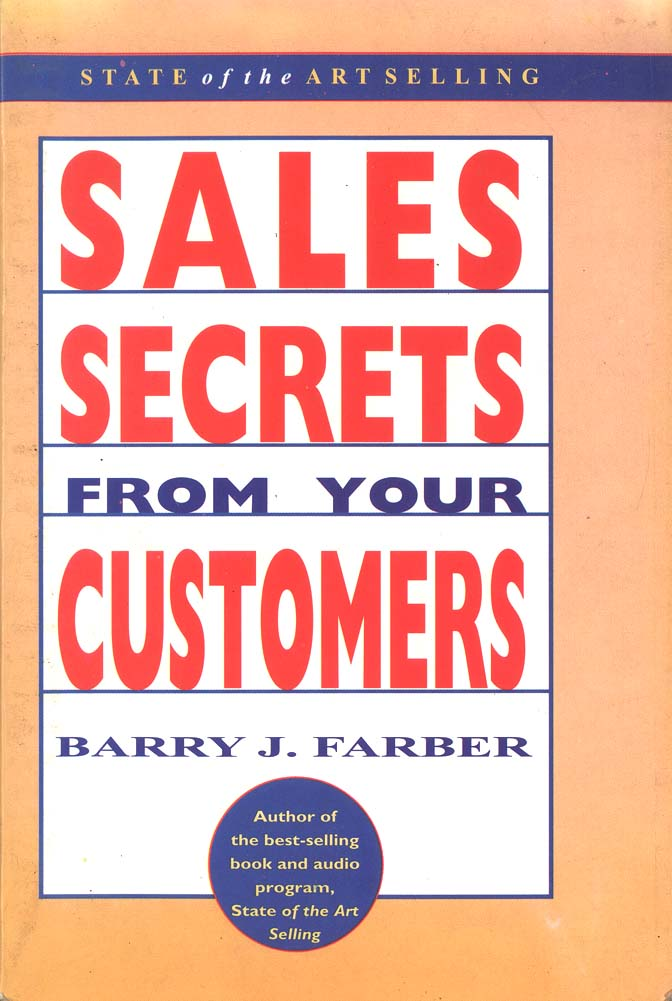 sales secrets from your customers
